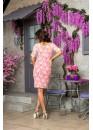 Платье коктейльное нежное кружевное