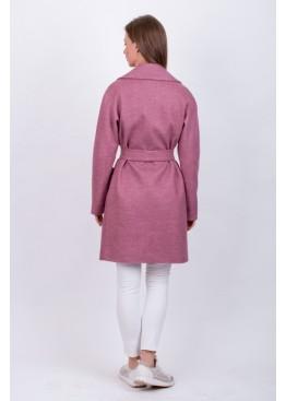Пальто демисезонное Брайна Розовое
