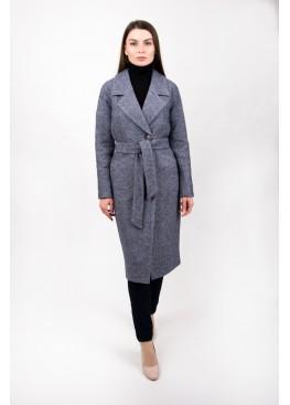 Пальто демисезонное Женева Серое