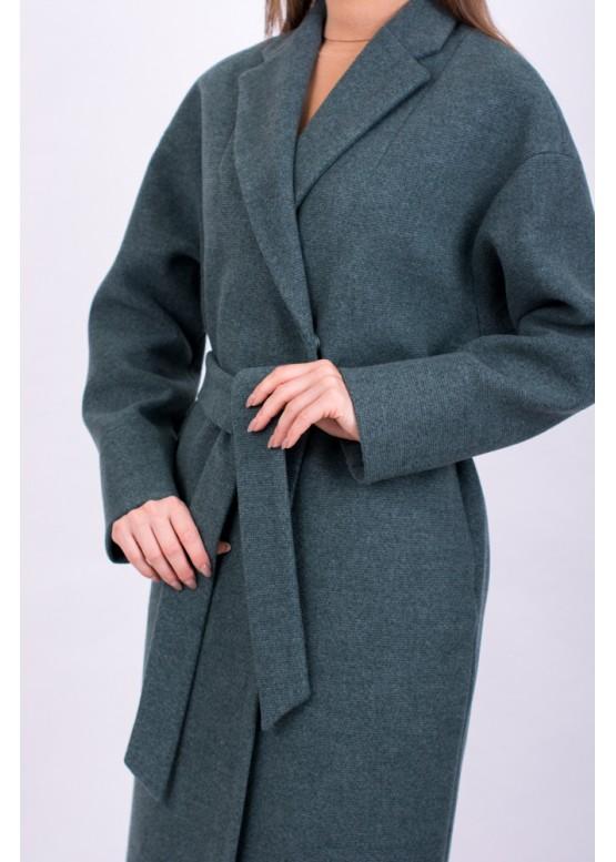 Пальто демисезонное Прованс Зеленое заказать в Москве
