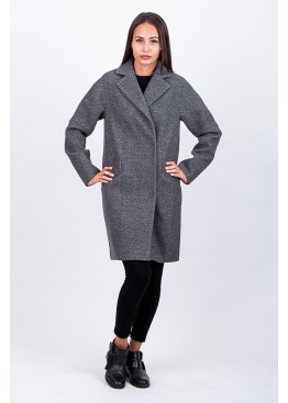 Пальто демисезонное Риана Серое