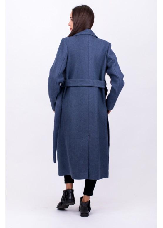Пальто демисезонное Велар Синий заказать в Москве