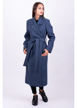Пальто демисезонное Велар Синий