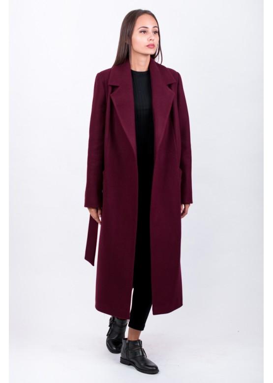 Пальто демисезонное Велар Бордо заказать в Москве