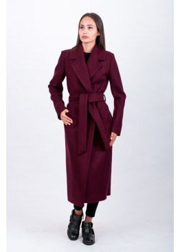 Пальто демисезонное Велар Бордо