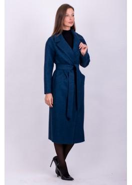Пальто демисезонное Велла Синий