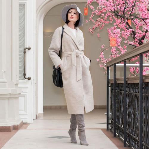 Вязаное пальто - отличная альтернатива на весну и осень