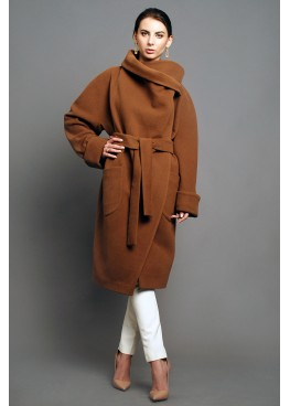 Пальто демисезонное Карим коричневый