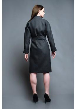Пальто демисезонное Алессандра серое