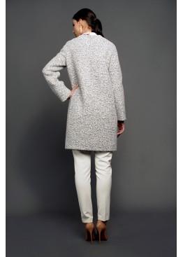Пальто демисезонное Доменика серый