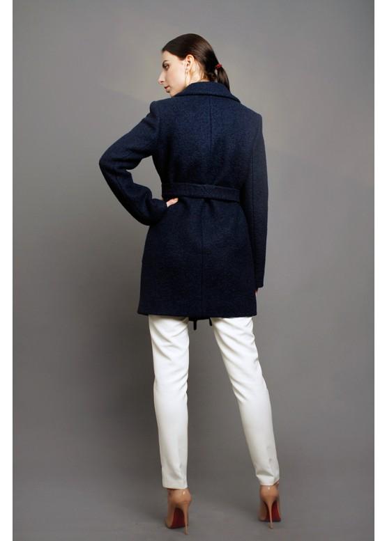 Пальто демисезонное Грида Темно синее