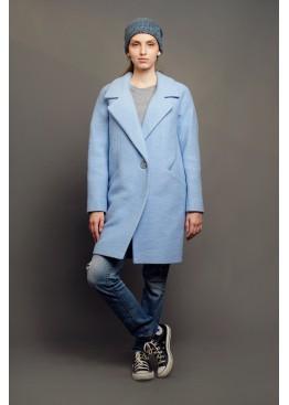 Пальто демисезонное Каиса Голубой