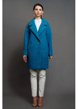 Пальто демисезонное Каиса Бирюза