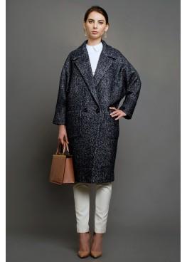 Пальто демисезонное Кэрри Серое (мокрый асфальт)