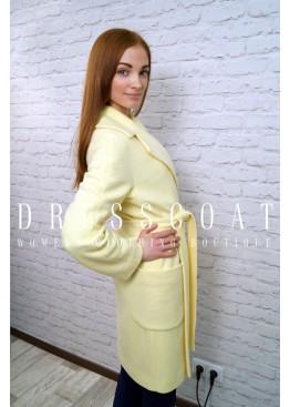Пальто демисезонное Бриджит крем