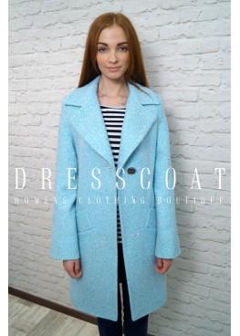 Пальто демисезонное Бриджит blue