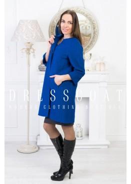 Пальто демисезонное Джаннет blue