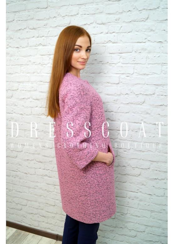 Пальто демисезонное Джаннет pink