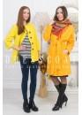 Пальто демисезонное Флавия yellow