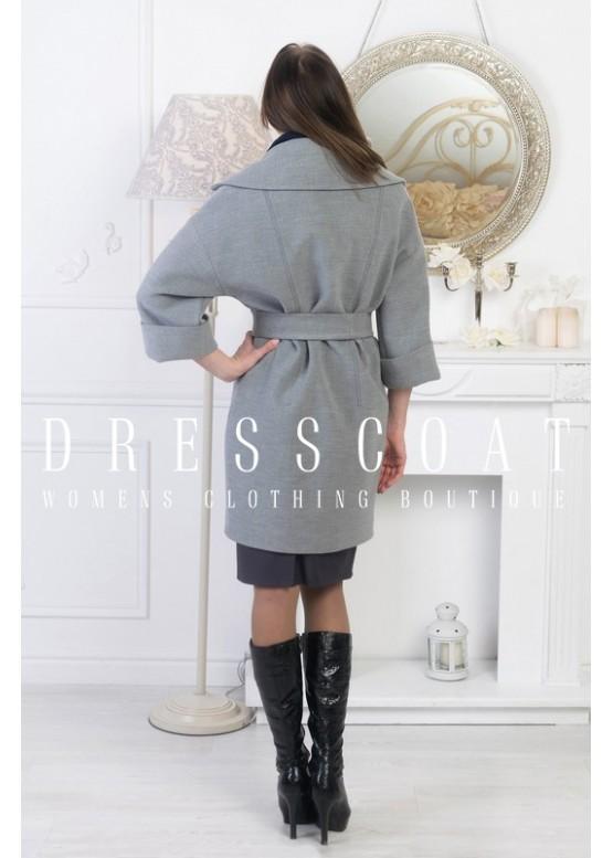 Пальто демисезонное Гранада new gray