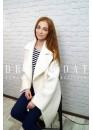 Пальто демисезонное Гретта white
