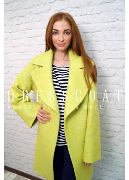 Пальто демисезонное Гретта yellow