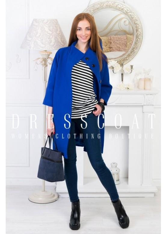 Пальто демисезонное Мериан blue