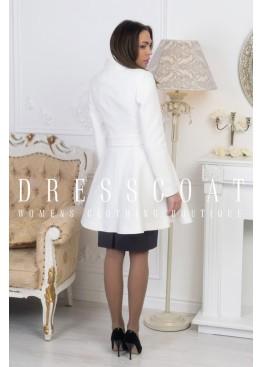 Пальто демисезонное Мерлин white
