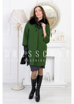 Пальто демисезонное Мишель green