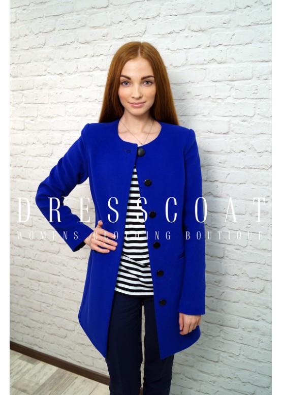 Пальто демисезонное Натали blue