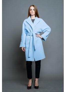 Пальто демисезонное София blue