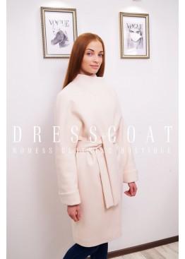 Пальто демисезонное София peach