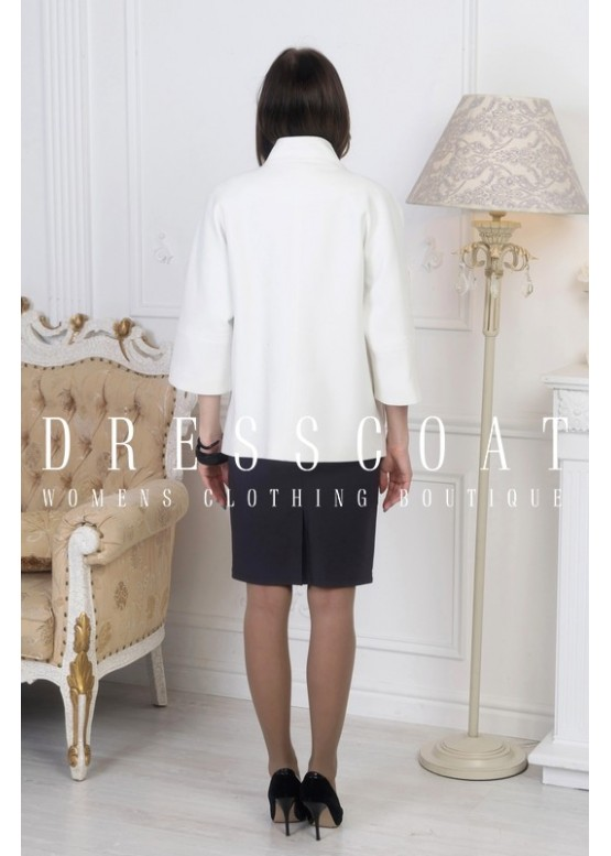 Пальто демисезонное Виолет white