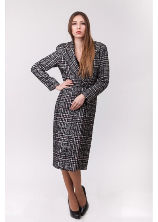70656db0d54 Длинное прямое женское пальто купить в Москве и Спб в интернет ...
