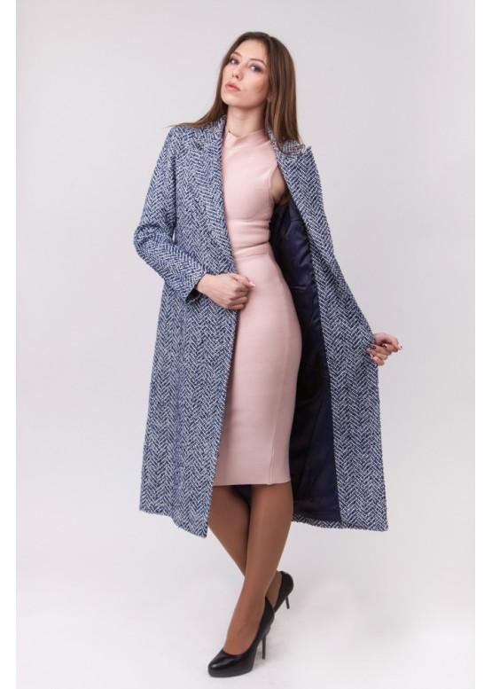 Пальто демисезонное Эмили Серый