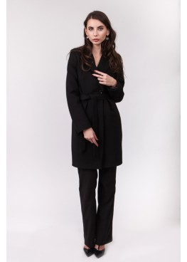 Пальто демисезонное Миа Черное
