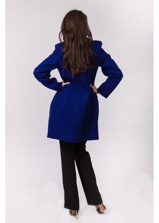 Пальто демисезонное Миа Синее