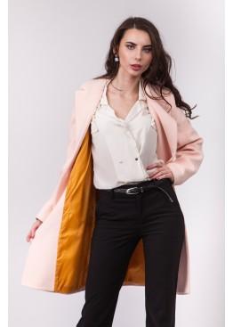 Пальто демисезонное Миа Пудра