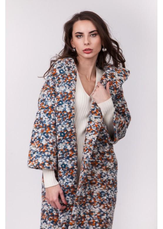 Пальто демисезонное Блэр Белое