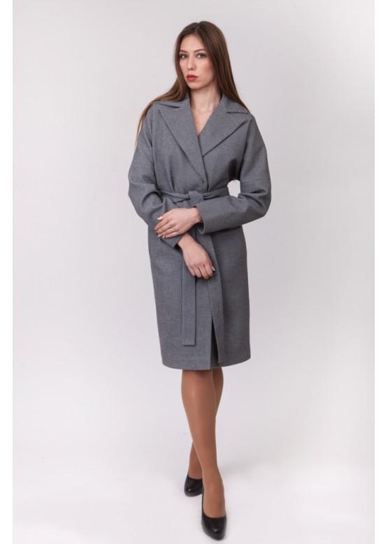 Пальто демисезонное Бонни Серое