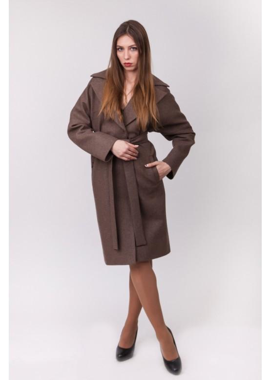 Пальто демисезонное Бонни Коричневое