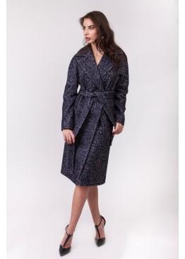 Пальто демисезонное Агата New Темно серый