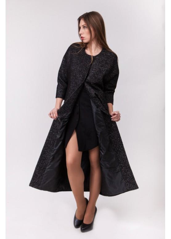 Пальто демисезонное Джорджия Темно Серый