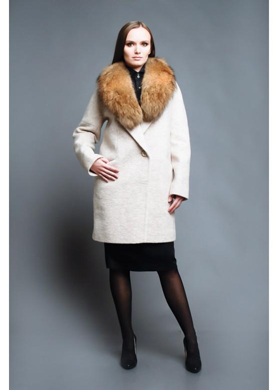 Пальто зимнее Бэлла Беж