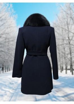 Пальто зимнее Дарси Темно-Синее