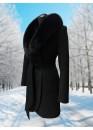 Пальто зимнее Дарси Черное Black
