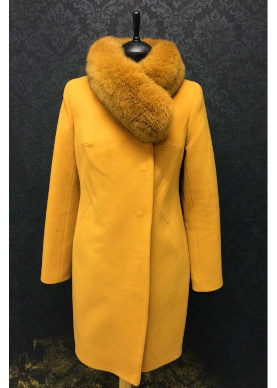 Пальто зимнее Фокси Рыжее
