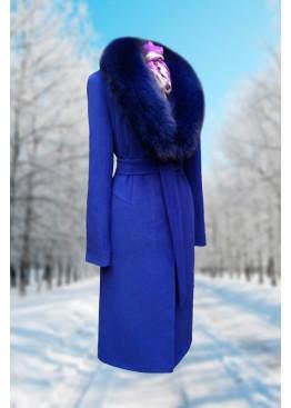 Пальто зимнее Карлин электрик Батала