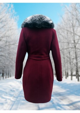 Пальто зимнее Классик Марсала Snow