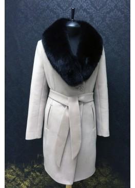 Пальто зимнее Классик Светло Беж